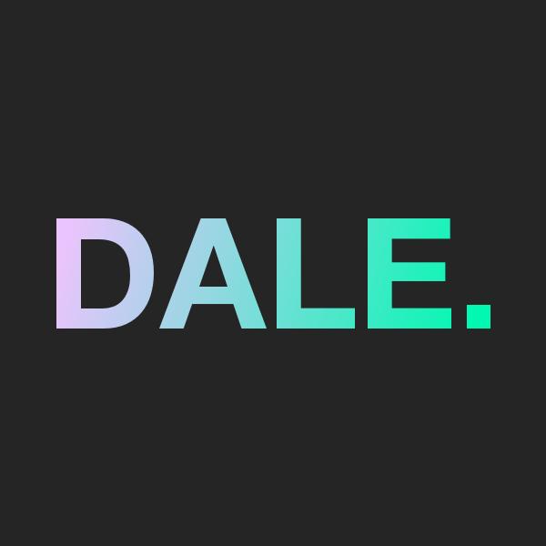 DALE. Logo